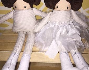 "21"" Handmade Princess Leia Doll Made to Order"