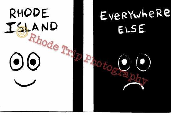 Gelatin silver print Rhode Island funny