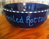 Hand Painted Pet Bowl