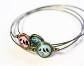 Simple Bangle Bracelet - Listing is for 1 bracelet - Choice of Color