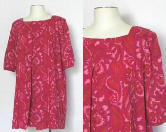 Shades of Pink Paisley Mini Dress