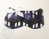 Sleep Mask, Kitty, Eye Pillow, Mask, Pillow, Cat, Police Box, Who, Doctor