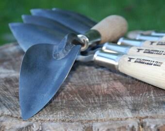 Potting Trowel, Potting Shovel, Hand Forged Garden Tool, Blacksmith Made