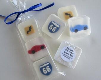 Route 66 Car Soap Favors