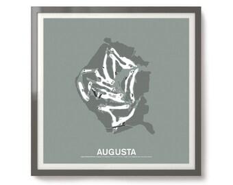 Augusta National Golf Club Screen Print
