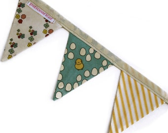 Easter - Handmade Mini-Bunting by palicearker