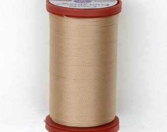 Sewing Thread, Upholstery Thread, 8240 Hemp Coats and Clark Upholstery Button Thread, Extra Strong Nylon, 150 yds UT001