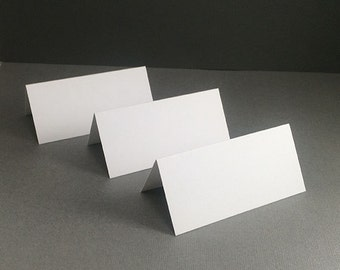 1 Pack of 50 Blank Placecards