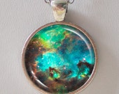 Galaxy Necklace, Hubble image, Nebula Necklace - raw stellar creation near NGC 2074- Galaxy series