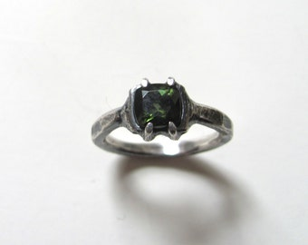 Forest Green Tourmaline Ring