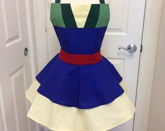 Mulan apron dress