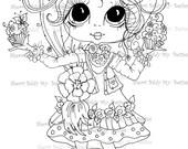 INSTANT DOWNLOAD Digital Digi Stamps Big Eye Big Head Dolls Bestie New Bestie Img302 My Besties By Sherri Baldy