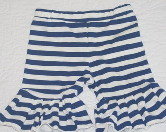4th of July double ruffled girls shorts sz 2,3,4,5,6