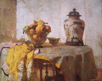 THE SILVER SCREEN (1921) By Frank Weston Benson, American Impressionist Artist - Museum of Fine Arts, Boston Print