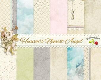 Heavens Newest Angel Paper Set