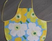 Marimekko Unikko apron - 100 % cotton