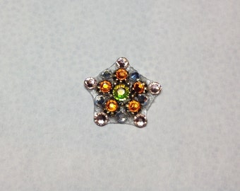 Star Fruit Swarovski Crystal Bindi