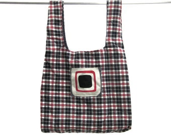 pick any 2 Handmade fabric bags, washable, durable, eco friendly