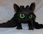 Ready To Ship! Dragon of the Night Medium Plush Toy