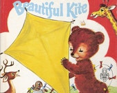 Little Bear and the Beautiful Kite Vintage Tell A Tale Book by Janice Udry Illustrated by Hertha Depper