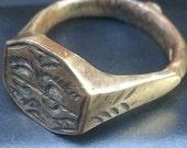 Bronze Roman ring