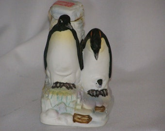 1980 Cyrus Noble Mini Decanter Penguin family Arctic Birds Limited Edition of 2998 Pieces