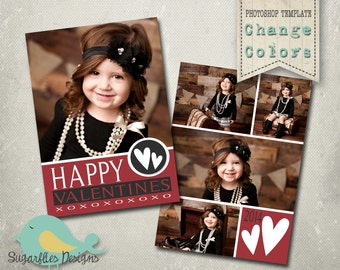 Valentines Photography Templates - Valentines Card 022