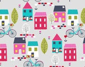 Studio E Fabrics - Around Town - 2941-99 (gray) - 1 yard