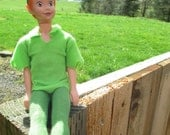 ON SALE Vintage Disney Flying Peter Pan Doll by Mattel
