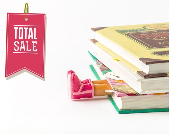 SALE! Uggs bookmark. Pink bookmark.
