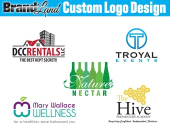 Logo Design, One Business Day Concepts, Custom Logo Design, Logos, Professional Logo, Business Logo - Unlimited Revisions
