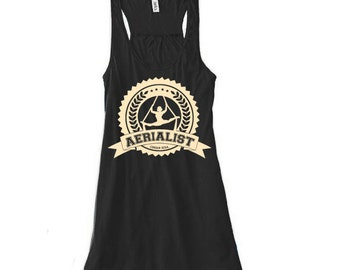 Aerialist Pride - Workout Circus Athletic Aerial Yoga Tank Top