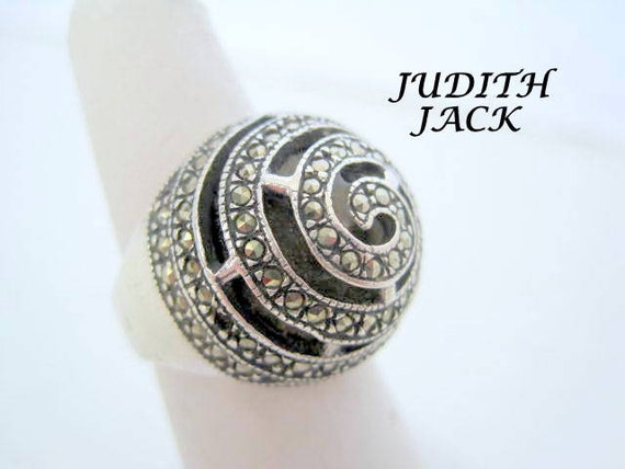 Judith Jack Heart Ring