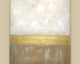Art,Painting, Ora Birenbaum, Acrylic, Abstract Original Painting on Canvas Titled: Into The Light 13 30x40x1.5""