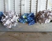 Rectangular Box, Gray Wedding Centerpiece Box,Decor, Wooden Box, Center Piece, Wedding Decor, Wooden Planter Box, Mantel Mantle Box