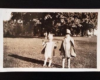 Original Antique Photograph Pretty Babies