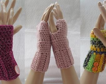 Fingerles mittens, crochet accesories, winter mittens