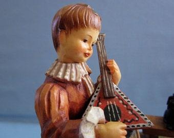 Lara's Theme Large Anri Music Box Thorens  28 note Hand Carved Wood