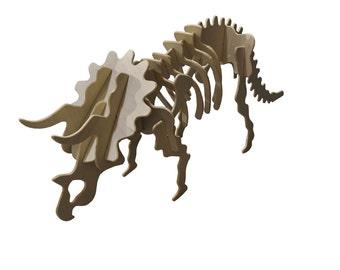 Medium Triceratops Puzzle Kit