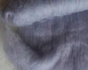 Superwash Merino, Lavender, Grey, Red, Pink Batt  8oz