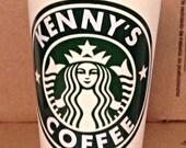 Starbucks Personalized 16 oz (Grande) Plastic Cup