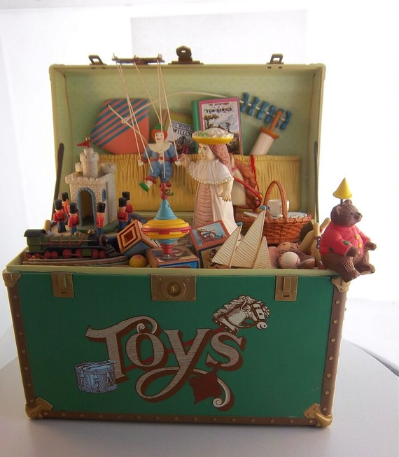 Toy Treasure Chest Beach : Enesco toy symphony musical treasure chest of by