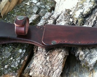 """Custom"""" Made-to-Order"""" Handcrafted Leather Knife Sheath"""
