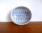 Vintage Laholm Sweden Ceramic Bowl Jane Wåhlstedt