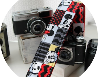 All the Fun in the World Patches Strap DSLR SLR