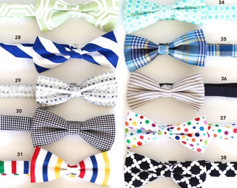 SUPER SALE! Many colors to choose from, Mens pre tied bowtie for party and wedding!