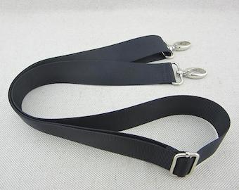 Black Adjustable Crossbody Purse Strap 3.1cm wide