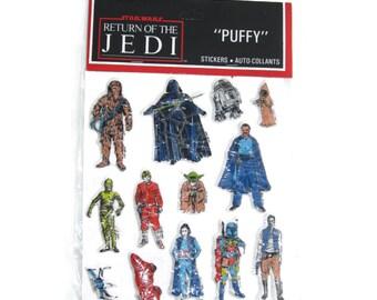 Return of the Jedi Star Wars vintage stickers 1980s 80s toys ephemera Taiwan
