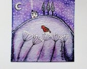 Hand Painted Christmas Card SALE