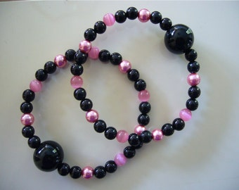"Queasy Beads™ Motion Sickness Bracelets in ""Evening Twilight"""